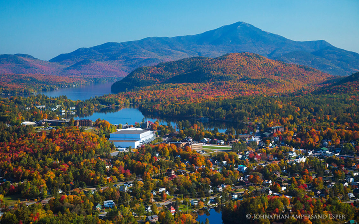 Lake Placid Village and Whiteface Mt. - Johnathan Esper